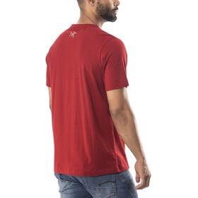 Arc'teryx M's Remote SS T-Shirt red beach